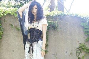 画像2: 砂ファン ショート ブラック(夏用)